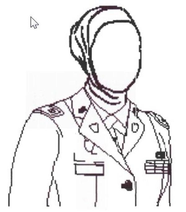 A Muslim soldier says her command sergeant major forced