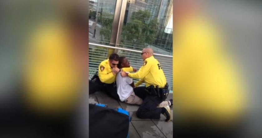 police-choke